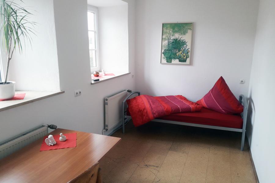Pensionen in Ingolstadt - Zimmerbeispiel